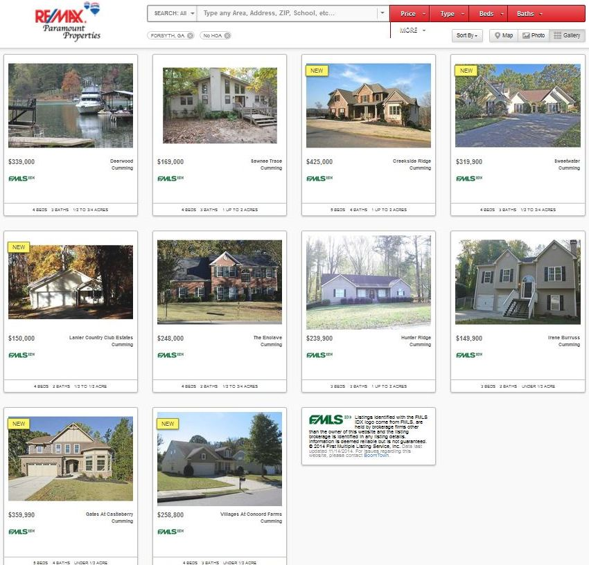 Real Estate Search With No HOA Fees